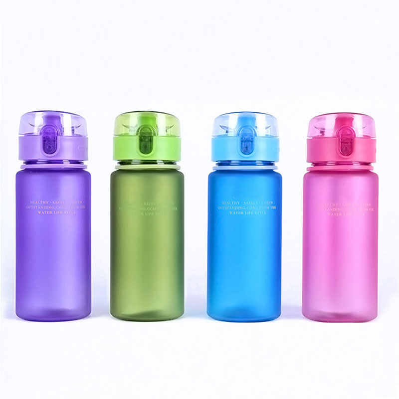 16cb6c4d32 ... Plastic Protein Shaker Drink Bottle With Flip Top Lid BPA Free  Leakproof Outdoor, Sports, ...
