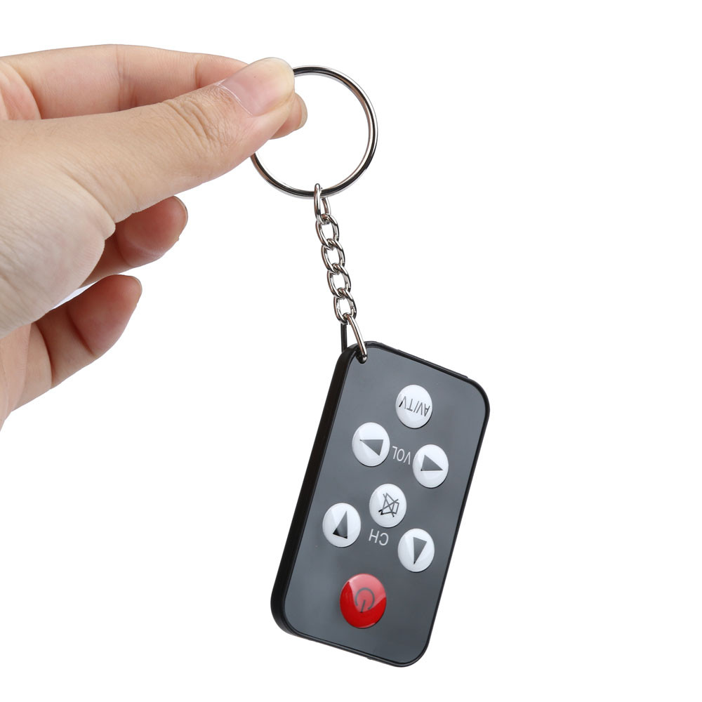 TV Mini Keychain Universal Remote Control for Philips Sony Panasonic Toshiba LO Televison Almost All Older Style