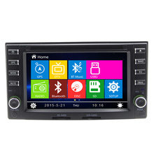 6.2INCH 2DIN Multimedia HD Digital Touch Screen Bluetooth For Kla Cerato Carens GPS Navigaiton RDS Steering wheel control FM AM