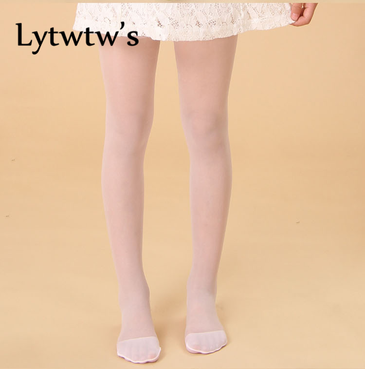 1 Piece Lytwtw's Baby Girl Summer Candy Color Tights Pantyhose Children Korean Style Stockings Fashion Kids Pantyhose Hot Sale heart pattern side pantyhose stockings