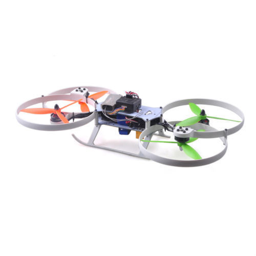 Flymotor 295 Mini Quadcopter CC3D Racing Drones Aircraft White