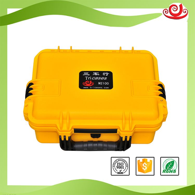 Tricases OEM/ODM M2100 Waterproof IP67 High Quality Instrument Tool Case tricases factory oem odm waterproof hard plastic case profession trolley tool cases m2360
