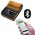 Веха Bluetooth Термальный чековый принтер 58 мм мини беспроводной принтер портативный мобильный чековый аппарат для Android POS