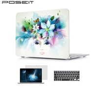 Hard Case+Keyboard Cover+Screen protector For Macbook Air 11 13 inch Pro13 15 Retina 12 13 15 Case laptop shell Protective Bag