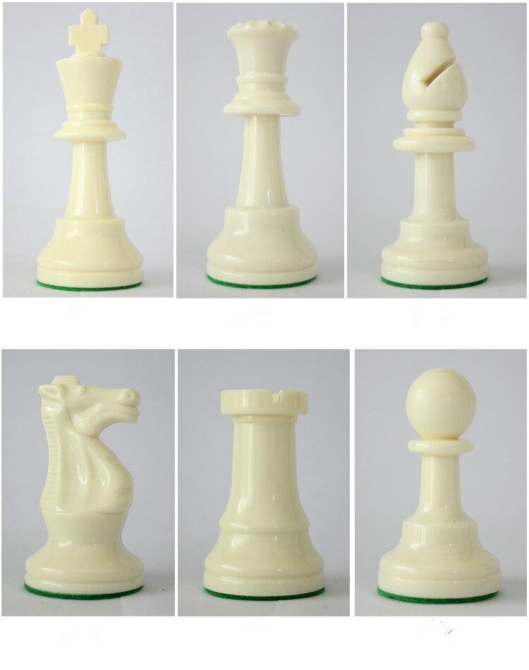 de xadrez plástico com xadrez 4 jogo traseiro