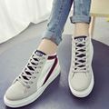 2017 Autumn Newest Western Female Style Womens Ladies Flat Comfortable Fashion Casual Lace Up Students Jogging Trendy Shoes G019