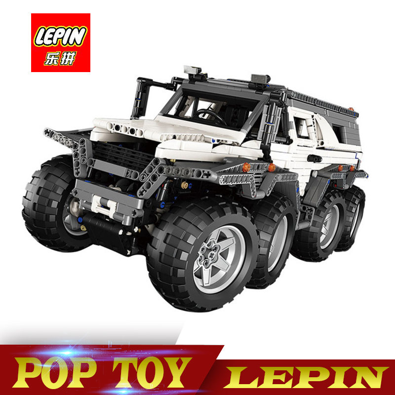 New LEPIN 23011/23011B 2816Pcs Technic Series Off-road vehicle Model Building Kits Block Bricks Compatible legoed 5360 lepin 22001 pirate ship imperial warships model building block briks toys gift 1717pcs compatible legoed 10210