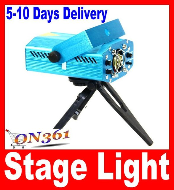 Wholesale MINI Projector Holographic Cheap Green&Red Laser DJ Disco Party Stage Lighting Light moving