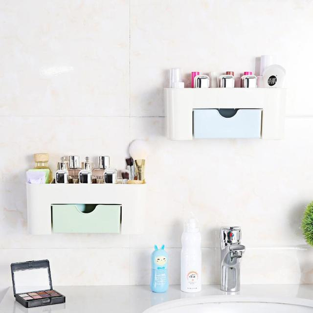 Charmant Wall Mounted Makeup Cosmetic Storage Case Beauty Artist Box Storage Tool  Brushes Bag Organizer 5O0119