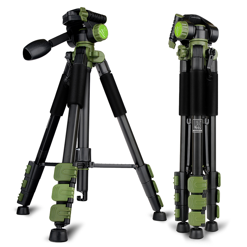 New Product DPOTORPADP SYS 100 Aluminum Tripod For Camera With 3D Tripod Head 4 Sections Professional Tripod Free Ship By DHL new sys700 aluminum professional tripod