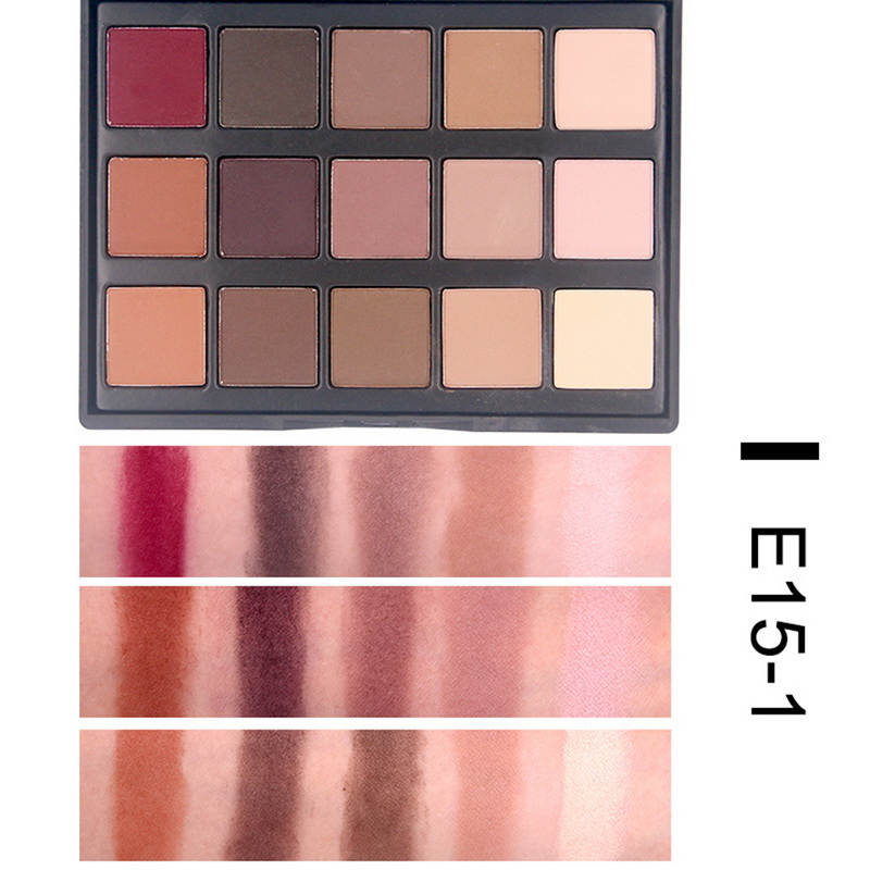 Beauty Essentials Popfeel High Pigment Matte Eyeshadow Eyes Makeup Pallete Shimmer Eye Shadow Palette Glitter Waterproof Lasting Makeup Easywear