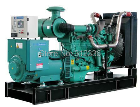 Sea shipping factory directly sale Open Type Diesel Generator 250kVA 200kW