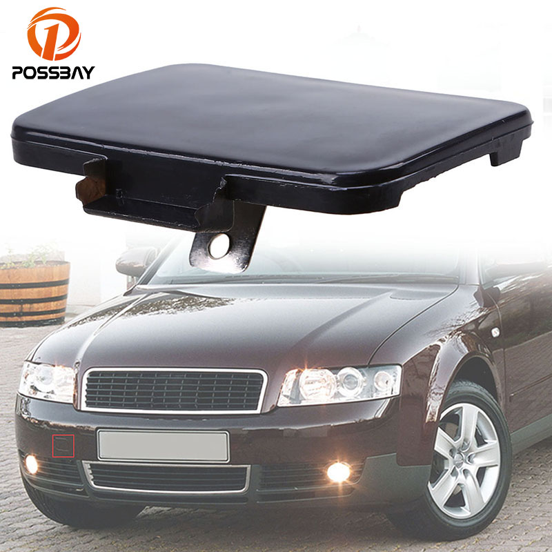 US $3 99 20% OFF|POSSBAY Black Front Bumper Trailer Cover Hook Tow Hook  Cover 8E0807241 for Audi S4 B6 Sedan/Avant/Cabriolet 2003 2005 Auto  Parts-in