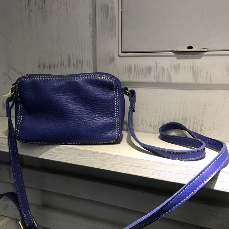 Épaule red Cuir Messenger Lady Vendange Blue Rétro Main 2323 Flap khaki Sac Casual En O6nHnqp18