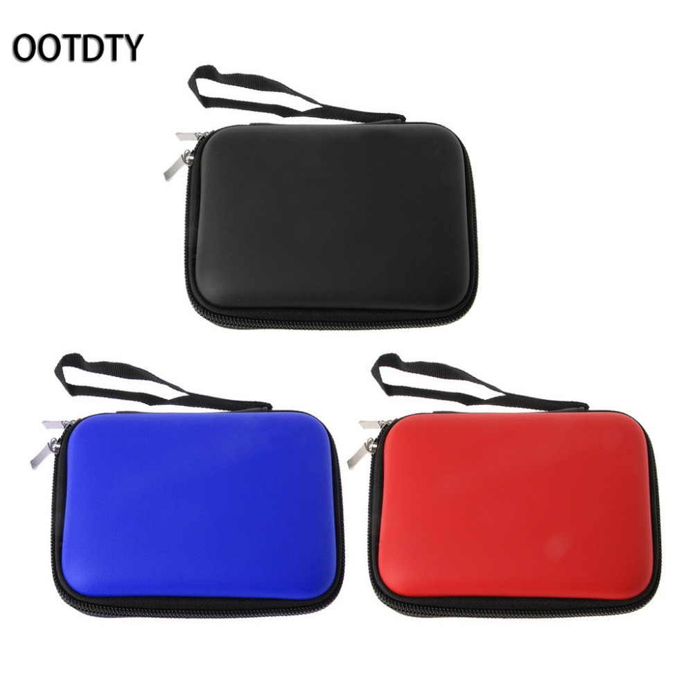 OOTDTY Portable EVA Carry Case Protective Bag For 2.5 Inch External HDD Hard Disk Drive  ...