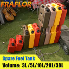 3L 5L 6L 10L Fuel Tank Oil Canister Gasoline Diesel Storage Can Spare Fuel Tank Plastic Petrol Car Motorcycle Truck Car Jerrycan - DISCOUNT ITEM  31% OFF Automobiles & Motorcycles