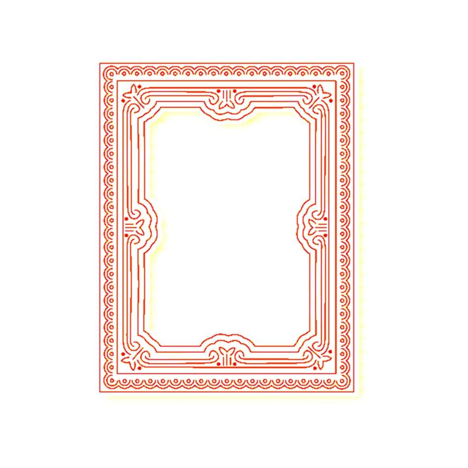 YaMinSanNiO Photo Frame Metal Cutting Dies Pretty Girl Frame Metal Dies For Card Making Decorative Album Photo Paper New Dies in Cutting Dies from Home Garden