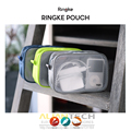 Original Ringke Pouch Travel Organizer Bag Multi-function Pouch - Mesh & Vinyl Window Electric Gadgets Accessories Cosmetic Bag