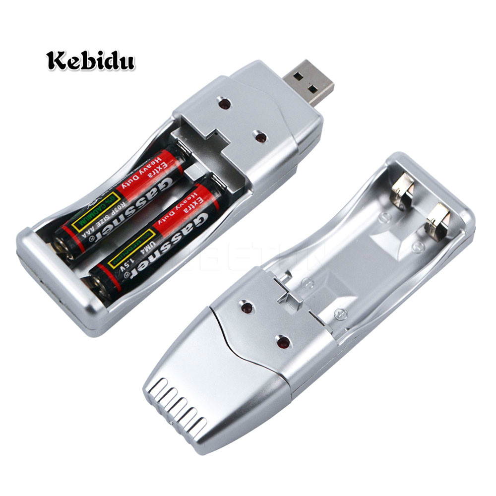 Kebidu USB Батарея Зарядное устройство Перезаряжаемые <font><b>NiMH</b></font> Батарея для AA AAA Перезаряжаемые Батарея