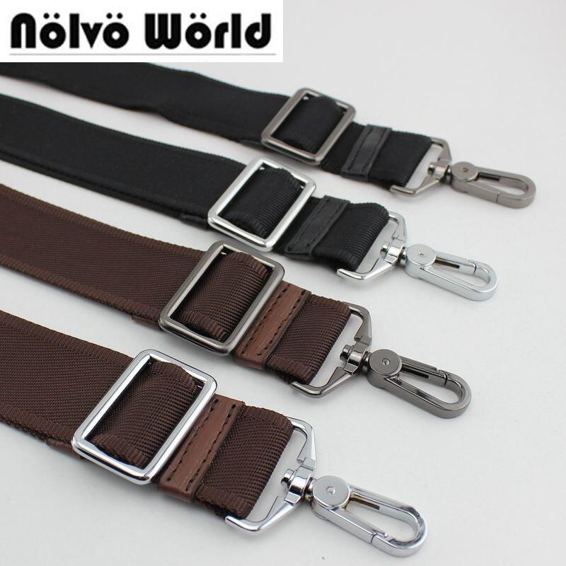 Accep10pcs Mix,Very Cheap Price 38mm Wide Nylon Belt Strap,replace Men Bags Long Shoulder Strap,man Laptop Bag Straps