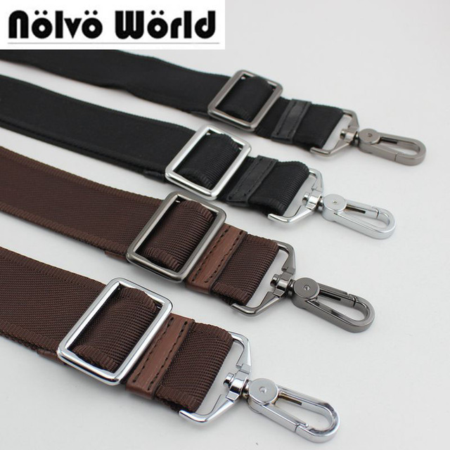 Accep10pcs Mix Very Price 38mm Wide Nylon Belt Strap Replace Men Bags Long