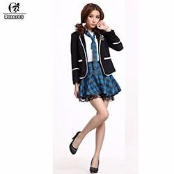 2015-New-Japan-Anime-Girls-School-Student-Uniform-Sailor-Skirt-British-Style-Costume-Sets-3Colors