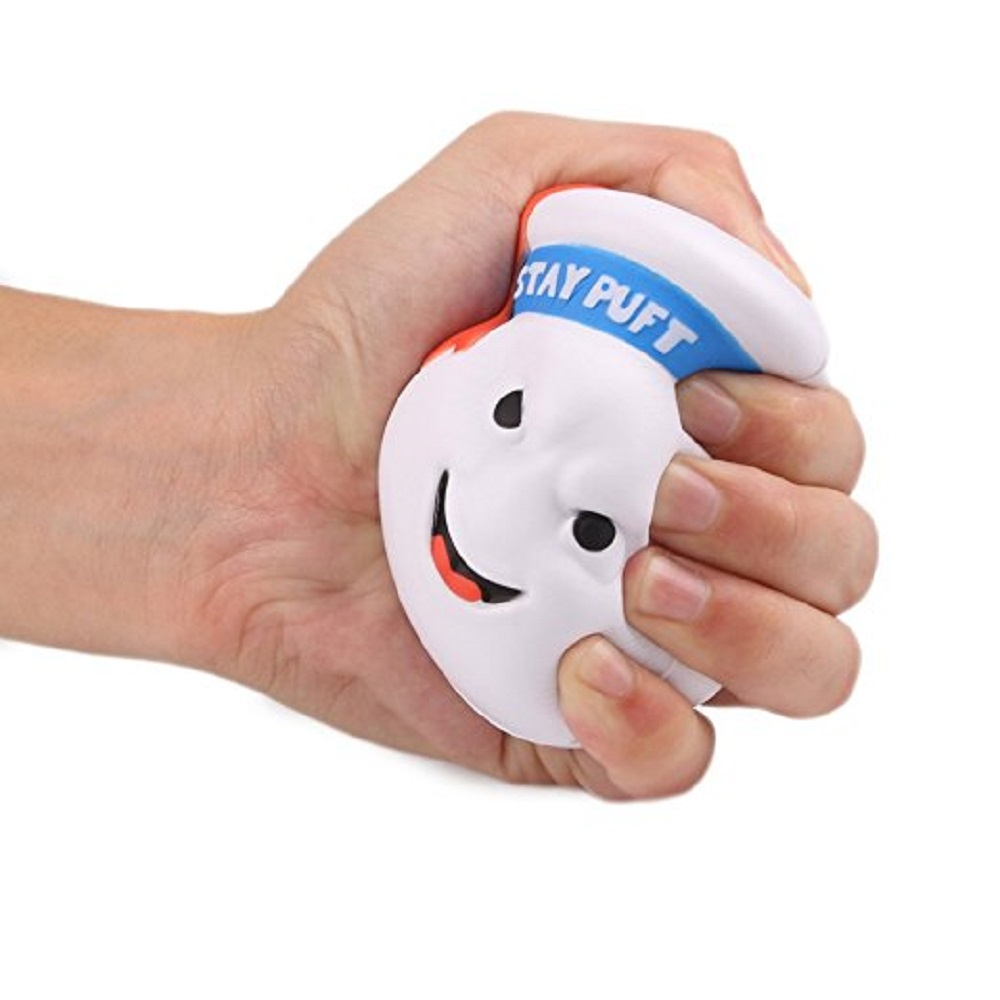 2019 New Kawaii Squishy Ghostbusters Stay Puft Reduce Pressure Stress Relief Kids Squeeze Toy Chritmas Gift For Children
