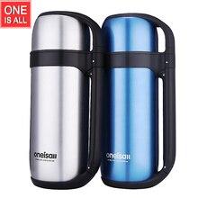 1.5L Outdoor Reise Thermische Wasserkocher Isolierte Vakuumflasche Thermos Kaffee Karaffe Edelstahl Reisewasserkocher Wärme lange