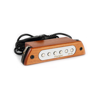 Flanger FP 02 Wood Acoustic Guitar Sound Hole Pickup Magnetic Pickup For 39 40 41 42