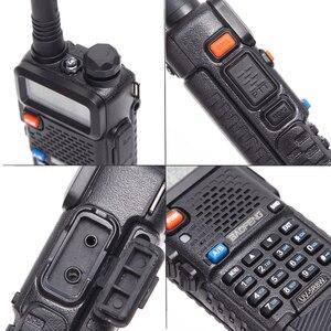 Image 4 - 2 pcs Baofeng UV 5R 8W שתי בדרך רדיו גבוהה כוח גרסה 10km ארוך צלצל Dual Band נייד רדיו מכשיר קשר CB רדיו