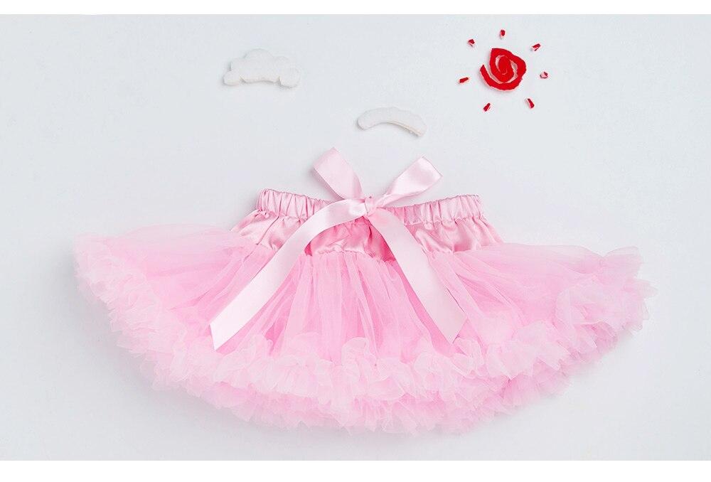 Однотонная детская юбка-пачка юбка-баллон для девочек летняя юбка-американка с рюшами, Saias Meninas, юбка-пачка Roupas Menina, 1 предмет, TS140