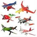 6 unids/set pixar aviones dusty 2 ishani capitán Ripslinger avión avión modelo regalos doll juguetes clásicos para niños
