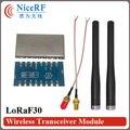 2 unids/lote Lora1278F30 1 W 6-8 km de Larga Distancia y Alta Sensibilidad (-120 dBm) 433 MHz Módulo RF Inalámbrico