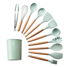US $2.31 |New Silicone Turner Soup Spoon Spatula Brush Scraper Pasta Server Egg Beater Kitchen Cooking Tools Kitchenware Pink/Black/Green-in Cooking Tool Sets from Home & Garden on Aliexpress.com | Alibaba Group