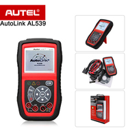 Autel Autolink AL539 CAN/OBDII Code Reader Professional Electric Battery Test Tool