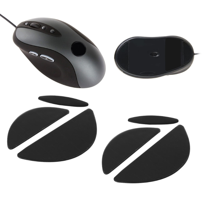 2 Sets/pack 0.6mm Mouse Feet Mouse Skates For Logitech MX518 /G400 /G400S Mouse