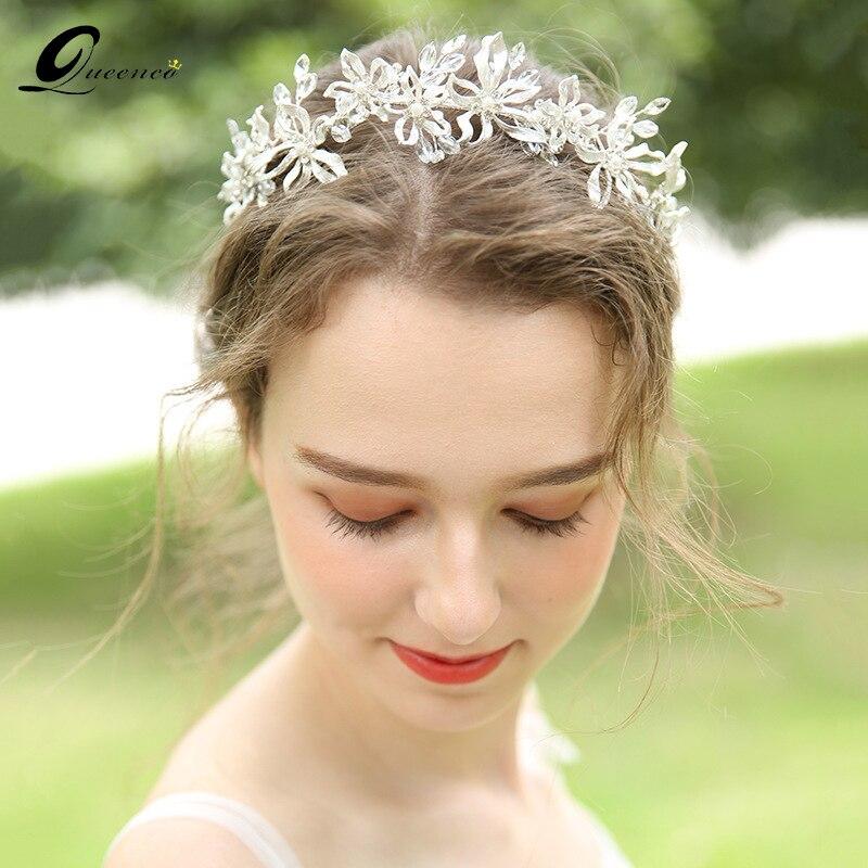 Aliexpress.com : Buy Silver Tiara Stunning Floral ...
