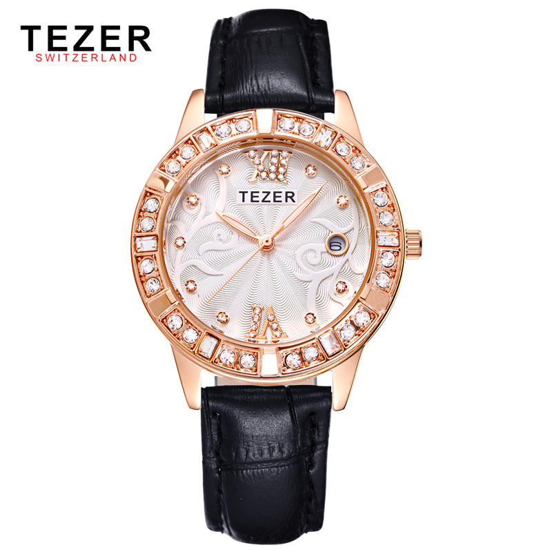 Ms Diamond Waterproof Quartz Watch Popular Casual And Simple Retro Luxury Watches Ladies Watches Calendar For Lady Lover wireless service call bell system popular in restaurant ce passed 433 92mhz full equipment watch pager 1 watch 7 call button