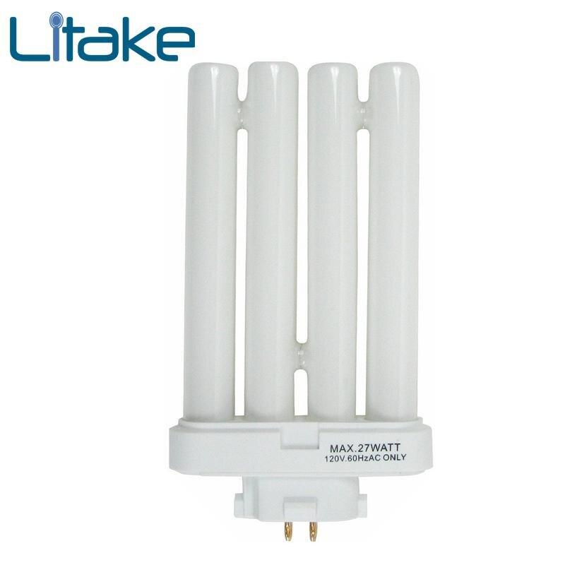 Litake Эйко FML27/65 27 Quad пробки компактные люминесцентные лампы ...