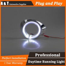 A&T car styling For Ford FocusLED DRL For Focus High brightness guide LED DRL led fog lamps daytime running light For F style