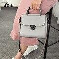 Mulheres De Couro da marca Sacos Do Mensageiro Designer de Moda Sólida SMYQGZ-A0059 Flap Bolso Bolsas das Mulheres