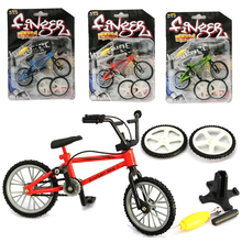 Mini Finger BMX Bicycle Kit Flick Trix Finger Bikes Toys Accessories Tool BMX Bicycle Model Tech Deck Gadgets Novelty Gag Toys mini finger bmx bicycle flick trix finger bikes toys bmx bicycle model bike tech deck gadgets novelty gag toys for kids gifts