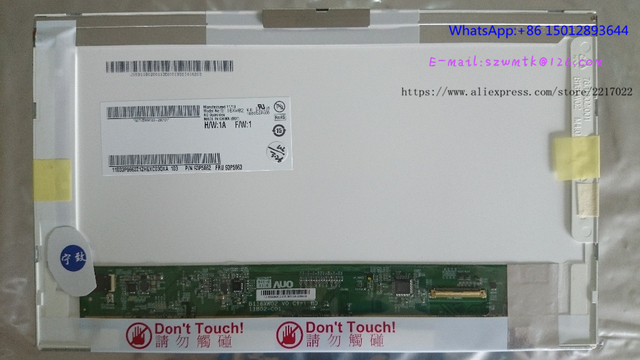 11.6 ''ЖК-экран B116XW02 V0 LTN116AT01 N116B6-L02 LP116WH1 TLA1 ДЛЯ Lenovo ноутбук