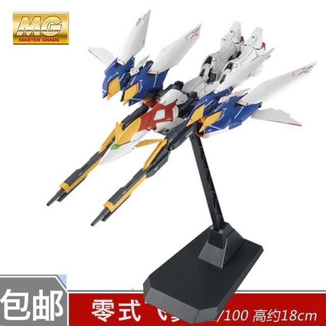 Daban Model MG 1/100 Wing Gundam Zero EW Action Figure Endless Waltz XXXG-00W0 Puzzle assembled model 18cm Robot kids Puzzle toy 2