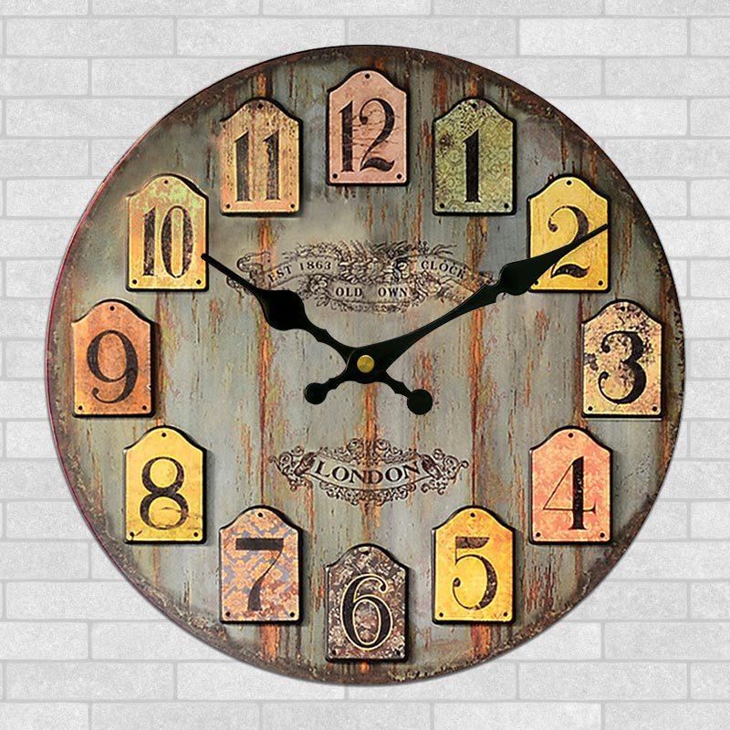 best seller europe retro clock creative living room american