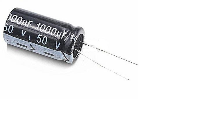 50pcs Electrolytic Capacitors 50 V 1000 Uf 1000 Uf50v 13 * 20 Mm