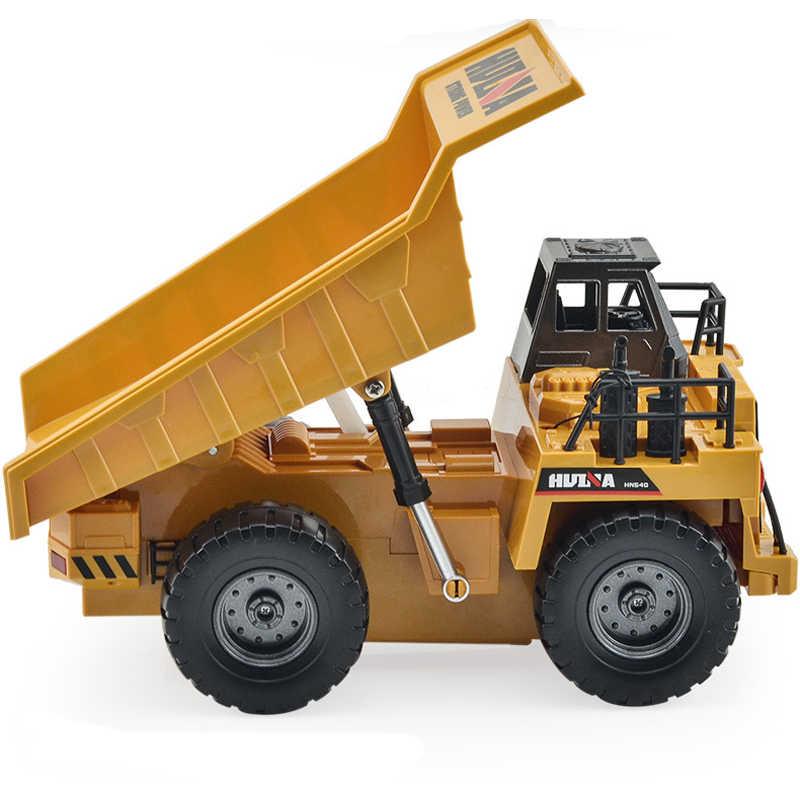 Camión de ingeniería de aleación RC superpotencia RC volquete RC camiones de playa juguetes para niños juguetes para adultos niños juguetes de cumpleaños regalos de navidad