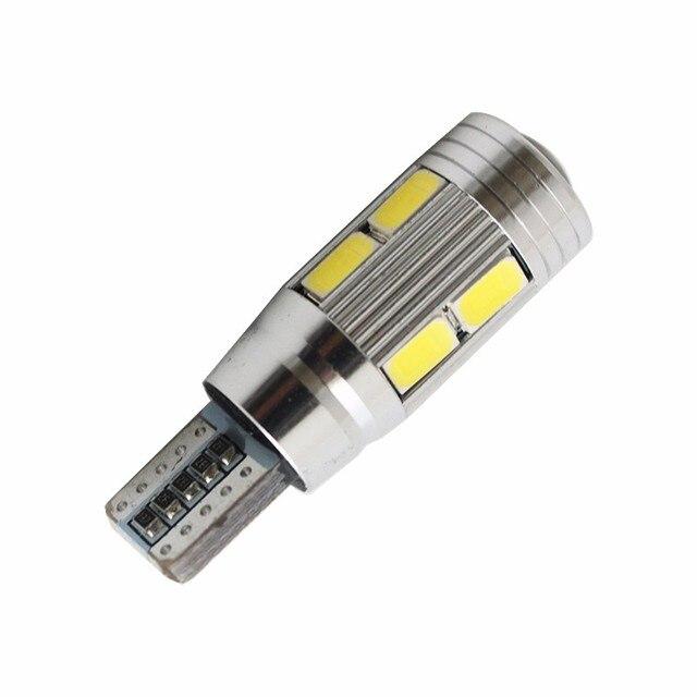 2 pcs car styling Car Auto LED T10 194 W5W Canbus 10 smd 5730 LED Light Bulb No error led light parking T10 LED Car Side Light