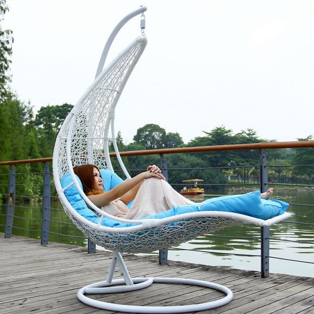 Outdoor Outdoor Swing Rattan Hanging Basket Hanging Chair