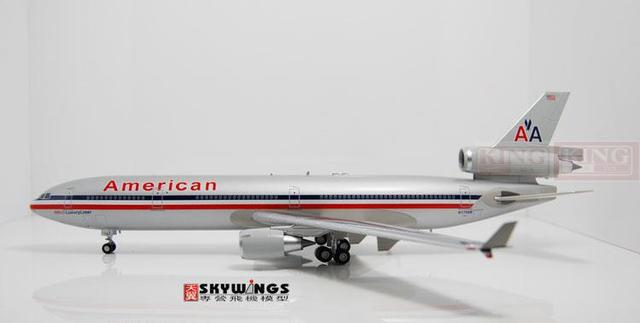 HL1201 Hobby American Master Airlines N1758B 1:200 MD-11 commercial jetliners plane model hobby